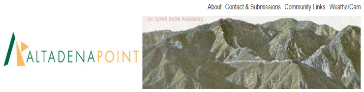 Altadena Point Archives Now Online on Altadena Now