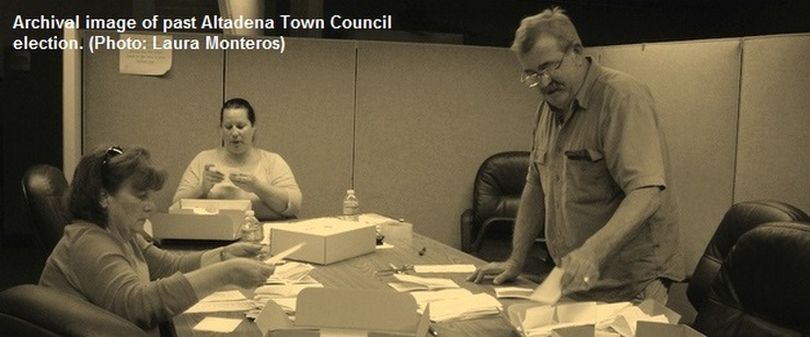 Altadena Town Council Hears Election Committee Report