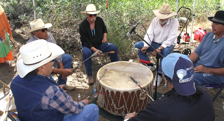 "Native Americans Drum, Dance in Local Canyon to Celebrate Spring's ""Awakening"""