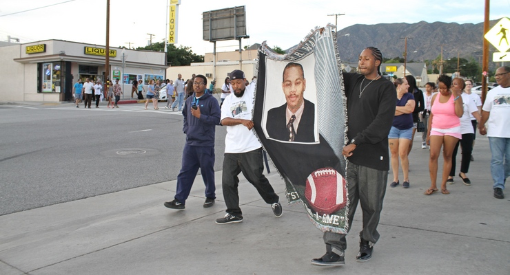 Family, Church, Anti-Gang Experts March on Anniversary of Altadena Man's Murder