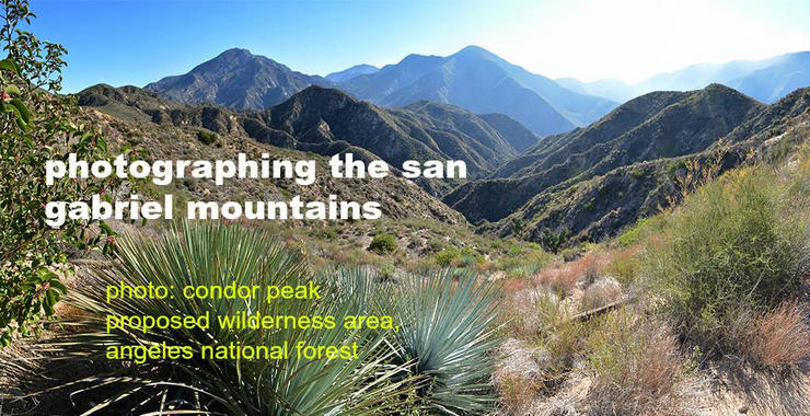 Sierra Club Presents an Evening of Great Pictures Wednesday Night at Eaton Canyon Nature Center