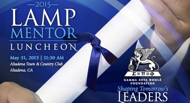 Gamma Zeta Boulé Foundation to Hold Lamp Mentor Program Luncheon