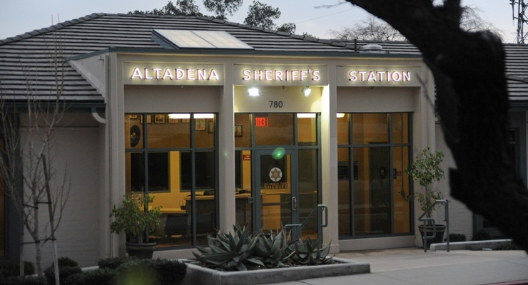 Altadena Station's Crime Blotter for the Week of August 16, 2015