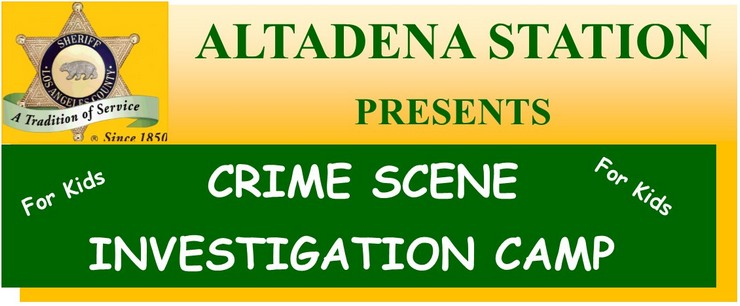 "Teens Can Become a ""Crime Scene Investigators"""