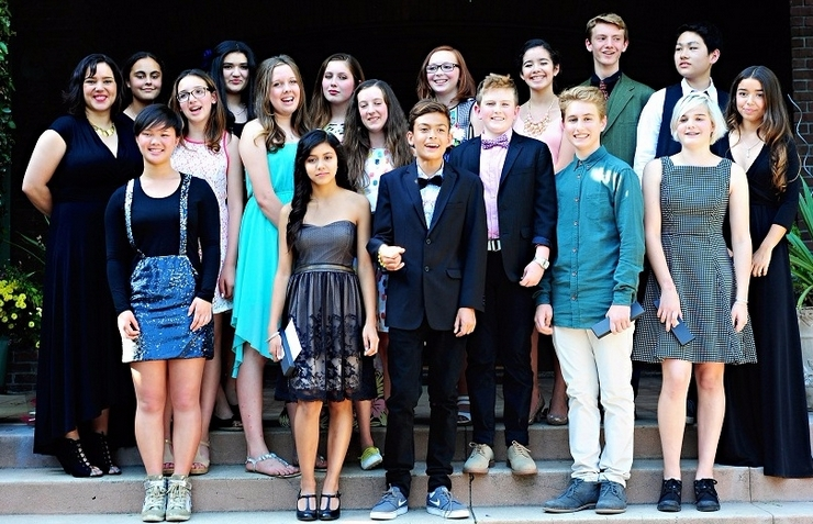 Pasadena Waldorf School Hosts Class of 2019 Eighth Grade Promotion Ceremony
