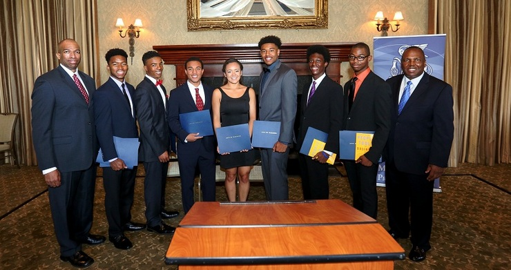 Gamma Zeta Boule Foundation Presents Scholarships at the LAMP Mentor Program Luncheon