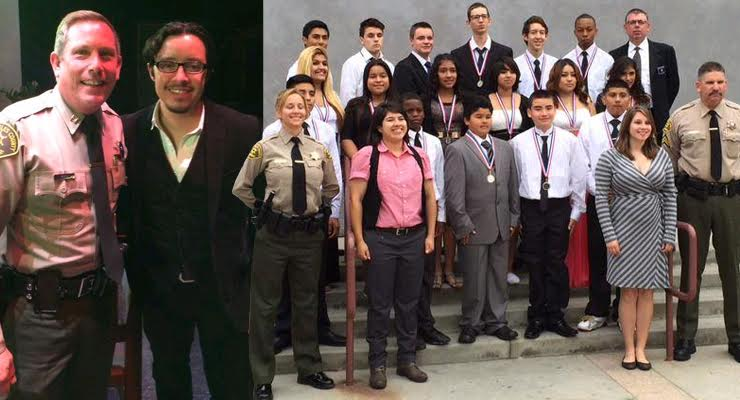 Altadena Students Graduate from Sheriff's VIDA program