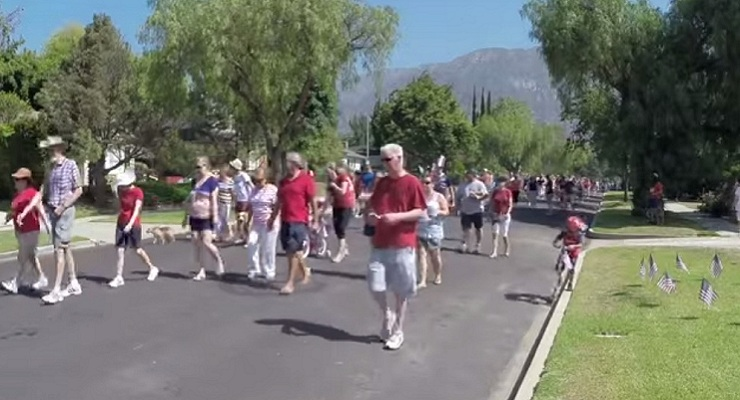 Fourth of July Parade in Pepper Drive Neighborhood Thrives Year After Year