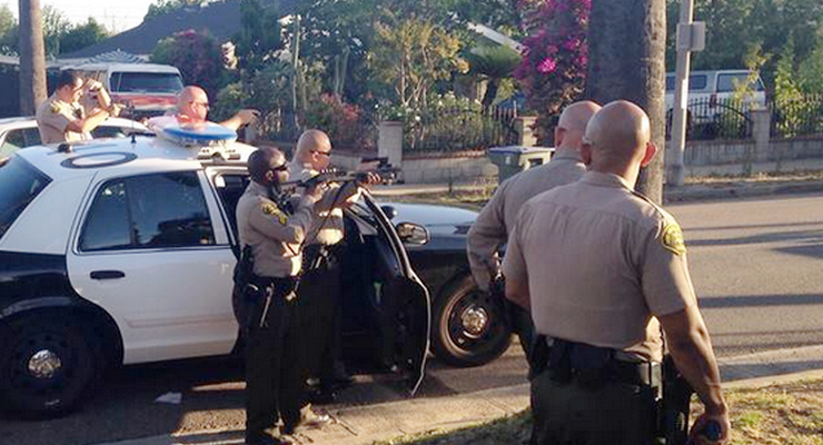 Altadena Sheriff's Recover Stolen Car, Arrest 7 Suspects