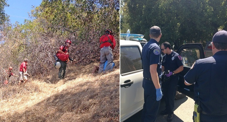 Altadena Emergency Crews Rescuing Three Girls Are Hailed by Victim in Second Incident