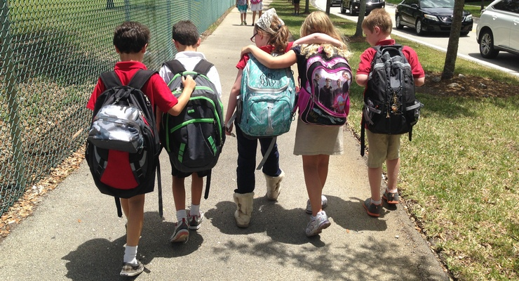 Over Half Million Kids Go Back to School Today in L.A. County