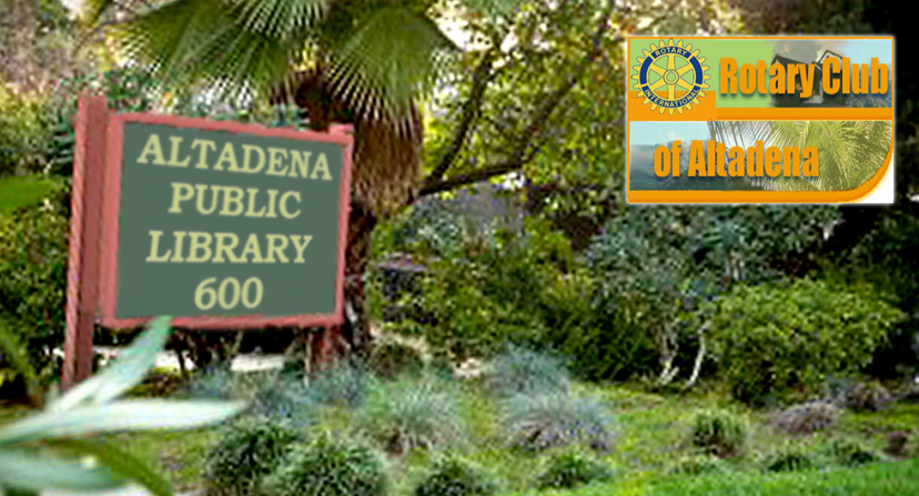 Altadena Library District in Conjunction with the Rotary Club of Altadena Hosts An Afternoon with Danny's Farm