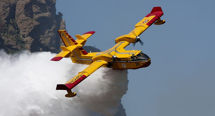 County Fire Adds Two Additional Superscoopers in Anticipation of Santa Ana Wind Fire Threat