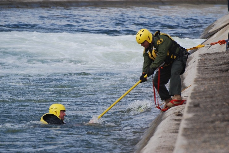 LA Sheriff Search and Rescue Teams Prepare for Potential Swift Water Rescues During Possible Rainy El Niño Season