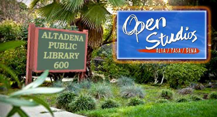 Altadena Public Library Presents The Year-End Installment of the Open Studios Art Tour