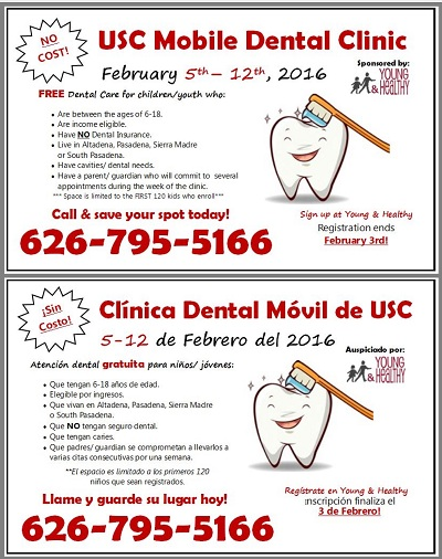 Free Dental Care for Kids Age 6-18, Sign Up Today, Registration Ends Febuary 3rd