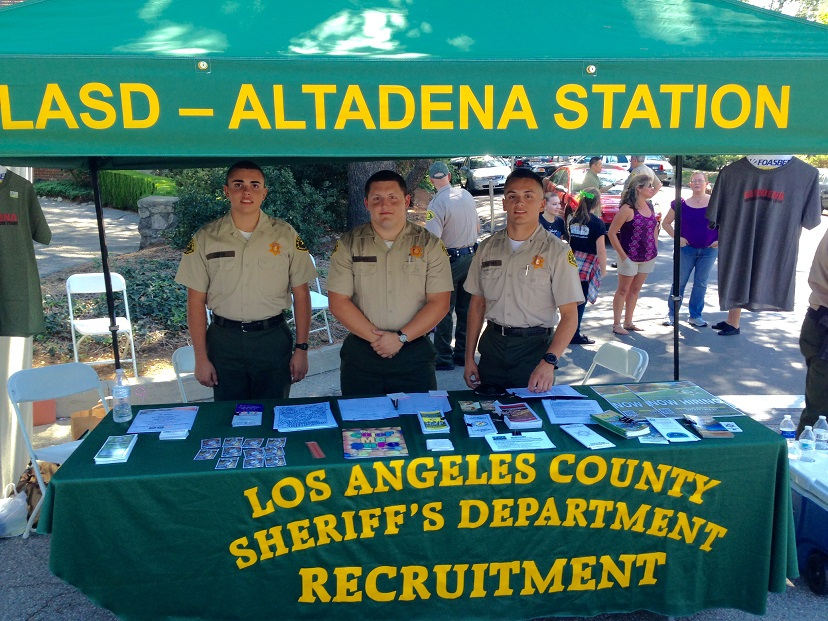 Altadena Sheriff's Station Seeking Youths for Explorer Program