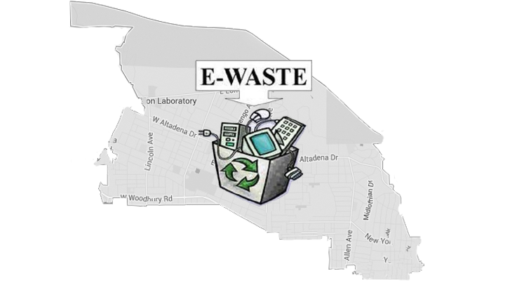 """Altadena Goes Green"" at E-Waste Recycling Event"
