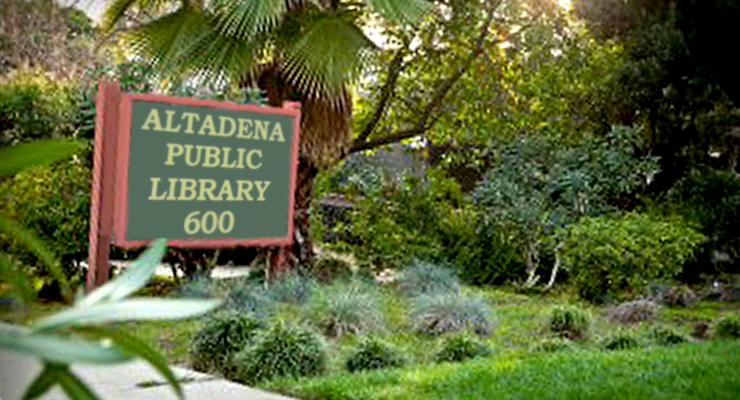 Altadena Library Board Position Vacancy