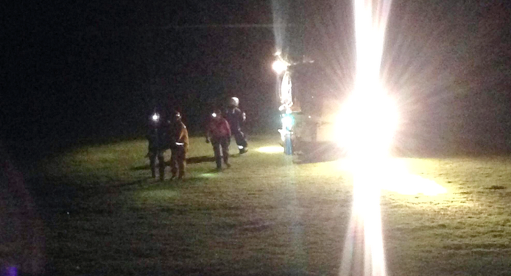 Inebriated Teenager Requires Helicopter Hoist for Echo Mountain Rescue, Arrested with 3 Others