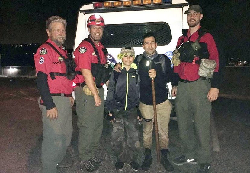 Altadena Mountain Rescue Team Assists in Search of Missing Child, Hikers