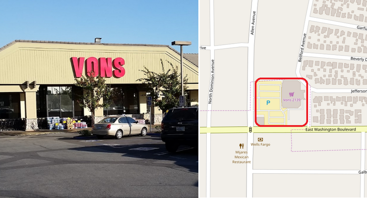 North Pasadena Vons May Close