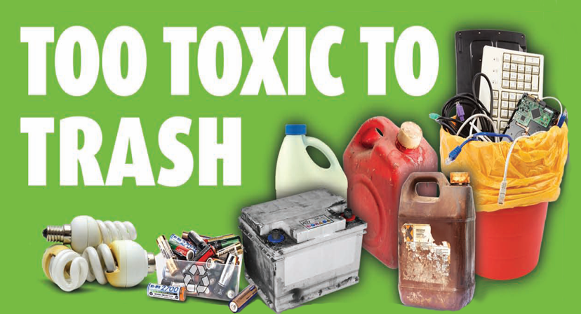 Free Household Hazardous and E-Waste Roundup in Altadena on May 12, 2018
