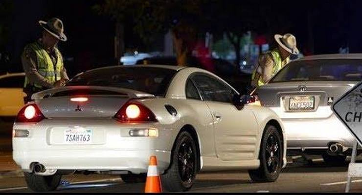 California Highway Patrol Sobriety/Driver License Checkpoint