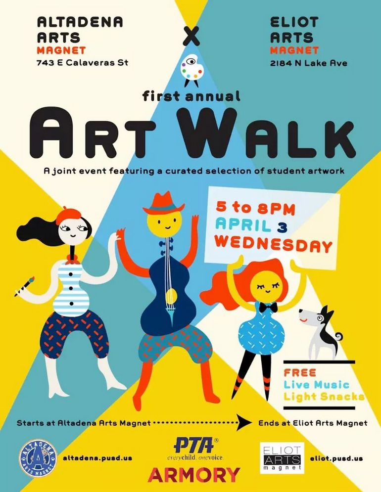 An Art Walk That is Elementary and More at Altadena Arts Magnet