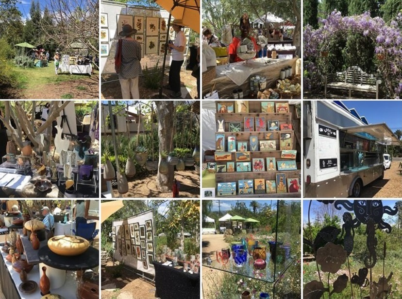 Art on Palm at Loma Alta Park Returns to Altadena for Two Days
