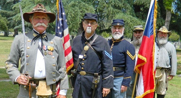 Reenactment Honors All Area Military Deaths in Civil War Salute on Memorial Day