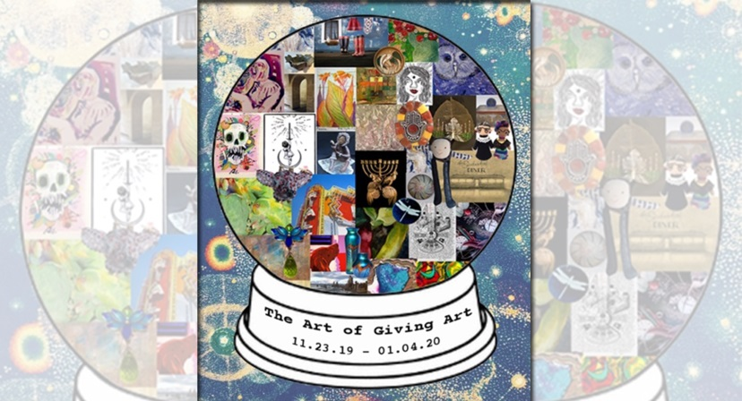 "New Group Art Show ""The Art of Giving Art"" at McGinty's Gallery"