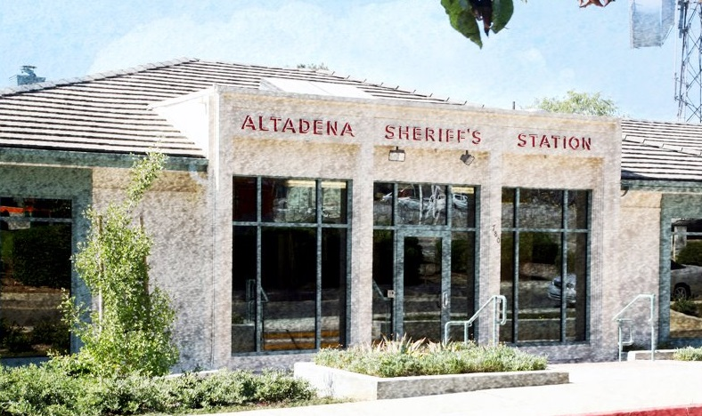 Altadena's Crime Blotter for the Week of Saturday, January 4th