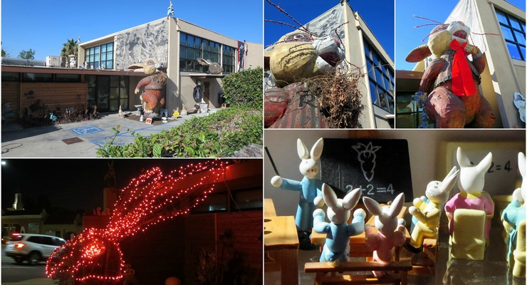 The Bunny Museum in Altadena Receives More Than 1,000 Items From Wisconsin Family