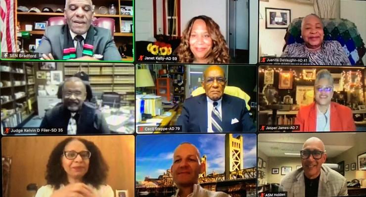 Community Leader Juanita De Vaughn Recognized by Asm. Holden and California Legislative Black Caucus