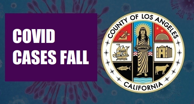 L.A. County's COVID-19 Case Rates Continue To Decline