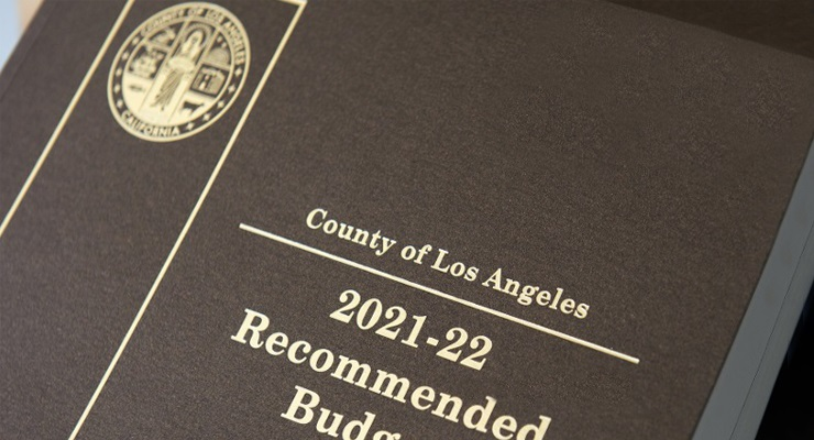 L.A. County Supervisors Votes in Support of $36.2 Billion Recommended Budget